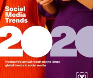 Social Media Trends 2020 según hootsuite imagen