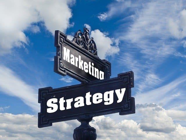 Estrategia de contenidos. Imagen estrategia de marketing.