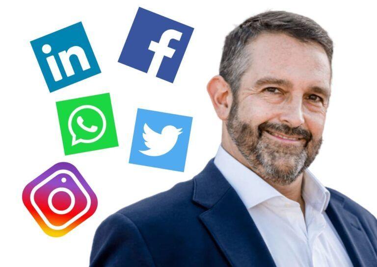 Social Media Strategist. Rodrigo del Olmo. Foto.