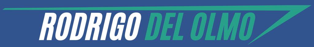 Rodrigo del Olmo nuevo logo de 2021