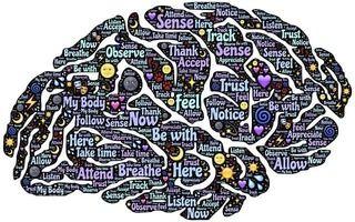 Esquema de las funciones mentales mapeado en el cerebro del consumidor.